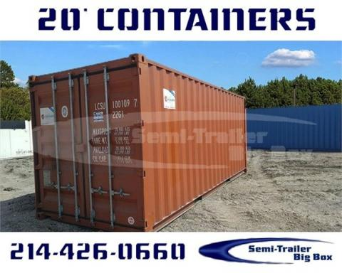 2001 Conex 20' wwt steel shipping/storage containers