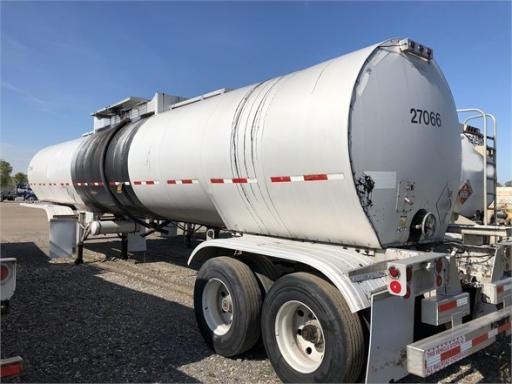 2001 LBT 7500 gallon - 400 max temp aluminum