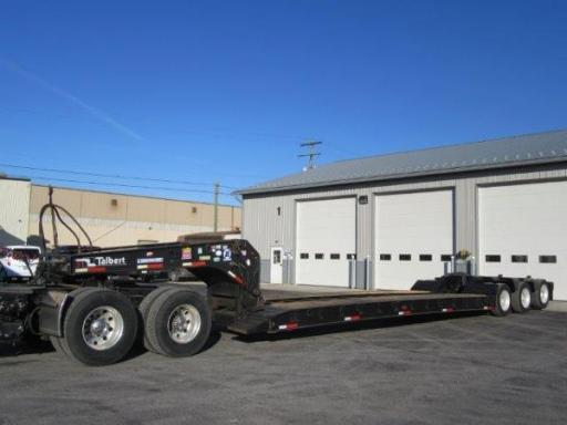 2005 Talbert 55 ton detachable lowboy