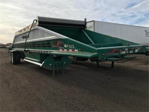 2014 Load King 40' spring ride bottom dump, electric flip tarp, h