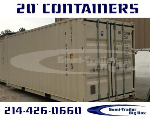 2001 Conex 20ft steel storage containers
