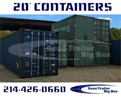 2016 Conex like new containers-20' one trip shipping containe