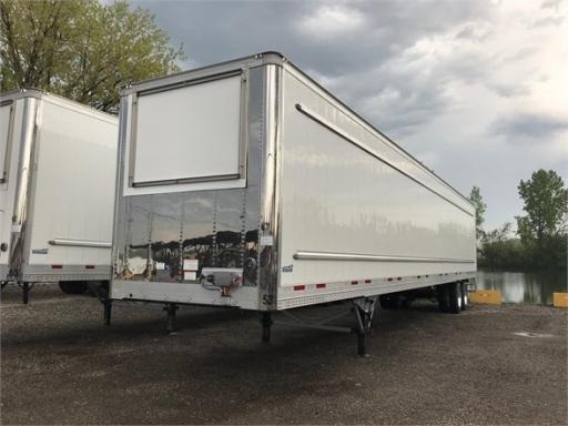 2020 Cimc reefer 53ft van roll door grocery flat floor