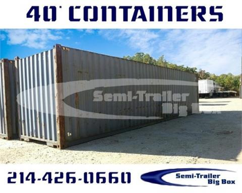 2002 Conex 40' high cube containers-wwt storage