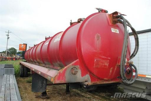 2011 Galyean 130 barrel vac trailer
