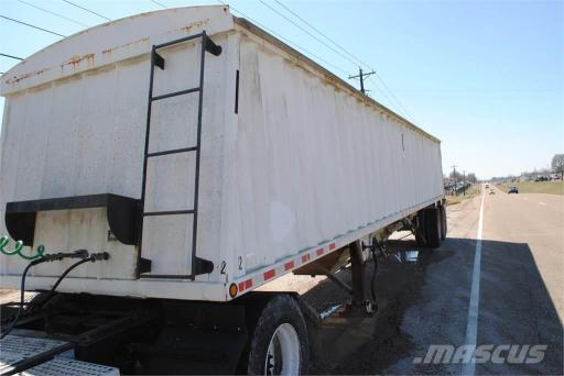2002 Construction Trailer Specialist const trlr spec 40 ft hopper