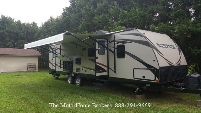 2016 Heartland RVs wilderness 3125bh