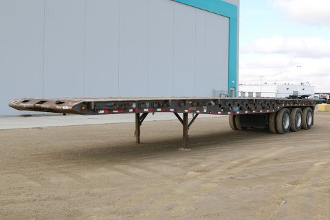 2007 Doepker 50' tri-axle oilfield float